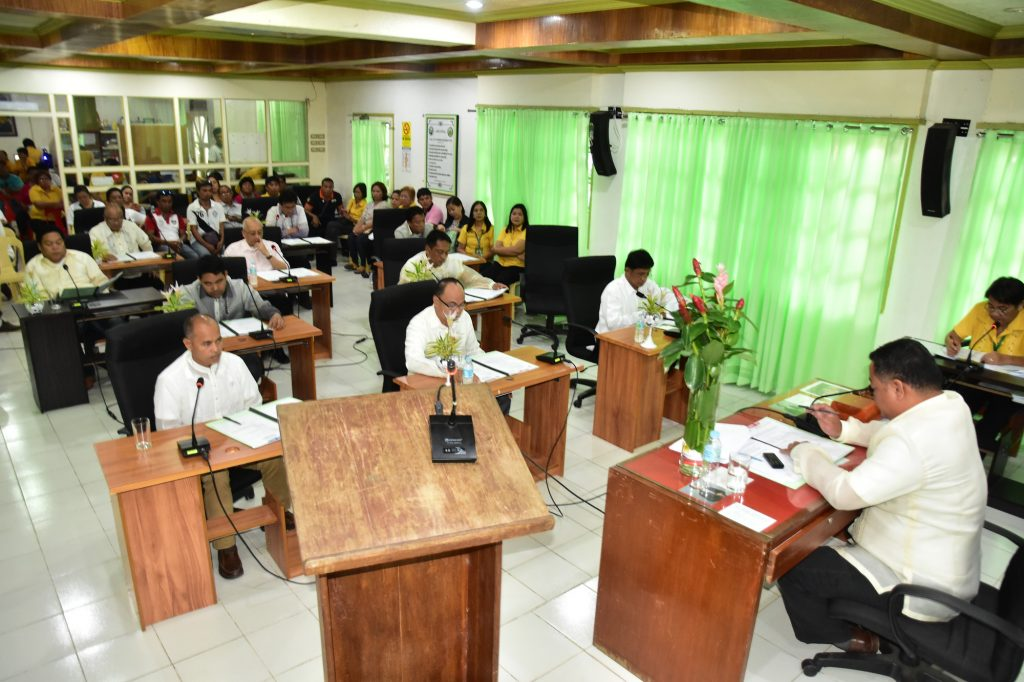 VICE MAYOR DANNY A. MARTINEZ PRESIDES OVER INAUGURAL SESSION